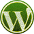 Logo de wordpress que enlaza al blog de Pedro